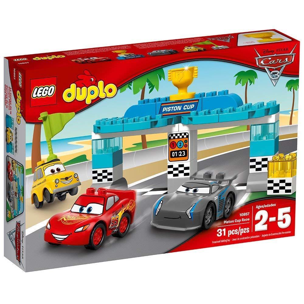 LEGO 10857 - Duplo Cars - Piston Cup Race Building Building Building Kit - 2017 - NEW e70180