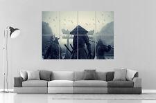 ASIATISCH SAMURAI GUERRIER WARRIOR JAPAN Kunst Plakat groß format A0 groß Druck