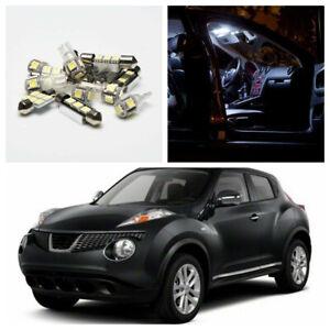 6x Car Interior LED Light Package Xenon White Bulb Kit Fit 2011-2013 Nissan Juke