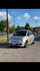 Fiat 500 Sport with Abarth Exhaust!