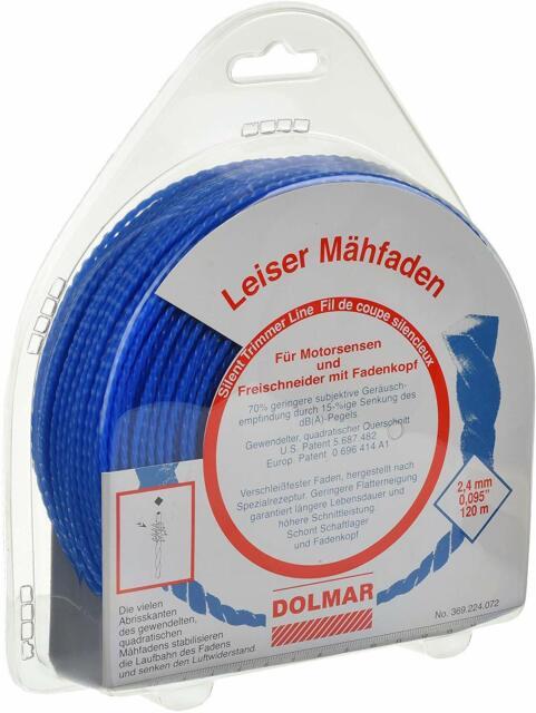 für Dolmar MS335.4U MS352.4R MS430.4U MS4300.4U CS246.4 2x Faden Mähfaden 15m p