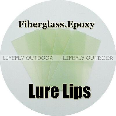 DIY Lure Making Crankbaits 1mm Fiberglass Epoxy Lure Lips 5 Packs