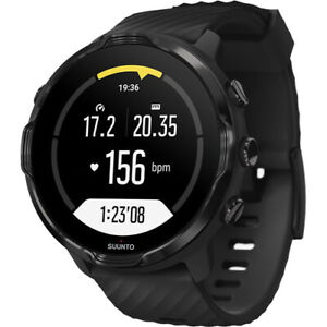 Suunto 7 Smart Adventure Watch Black On Black GPS Fitness Sports