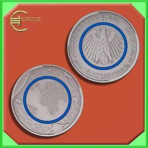5-Euro-Gedenkmuenze-Deutschland-Germany-2016-Stgl-aus-Rolle-Planet-Erde