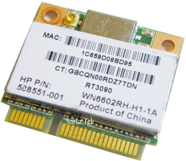 Driver: Ralink RT3090 802.11bgn Wireless Adapter