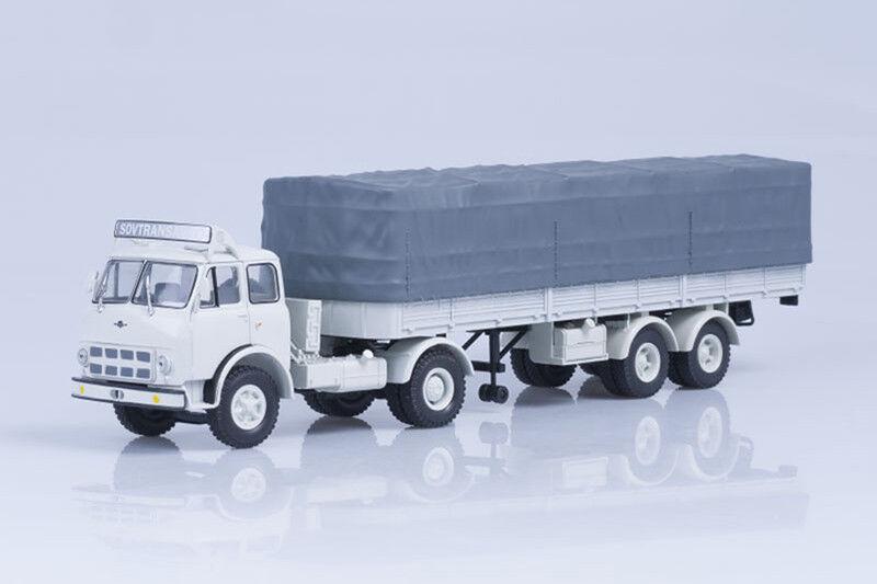 MAZ 504 B  SovTransAvto tractor unit with  5205A semitrailer  1 43 Nash Avtoprom  de gros