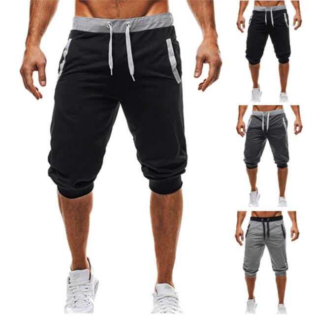 Men/'s Jogging Shorts Summer Short Pants Bottoms Joggers Sweatpants Gym Trousers