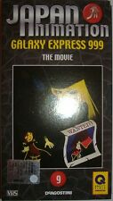 VHS - DE AGOSTINI/ JAPAN ANIMATION - VOLUME 9 - GALAXY EXPRESS 999