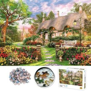 1000 Pieces Jigsaw Puzzles Mini Puzzle England Cottage Adult Kids Assembling Toy