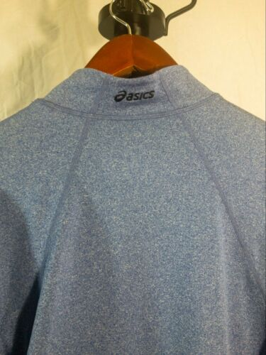 donna Quarter Quarter Asics Blue Zip Light Xl Pullover Maglia 885681130525 dfFBdq