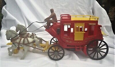 Van Helsing Stagecoach Playset includes 4 horses /& stagecoach MIB
