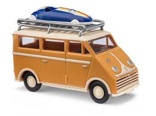h0 coche modelo 1:87 Busch 40926 DKW 3 = 6 con techo portaequipajes y drogada