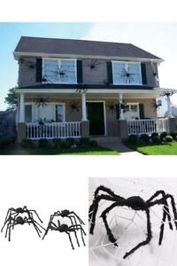 Image Is Loading 50 034 Giant Scary Spider Decor Hanging