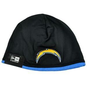0588db30b67 NFL New Era San Diego Chargers Tech Knit Game Cuffless Beanie Hat ...