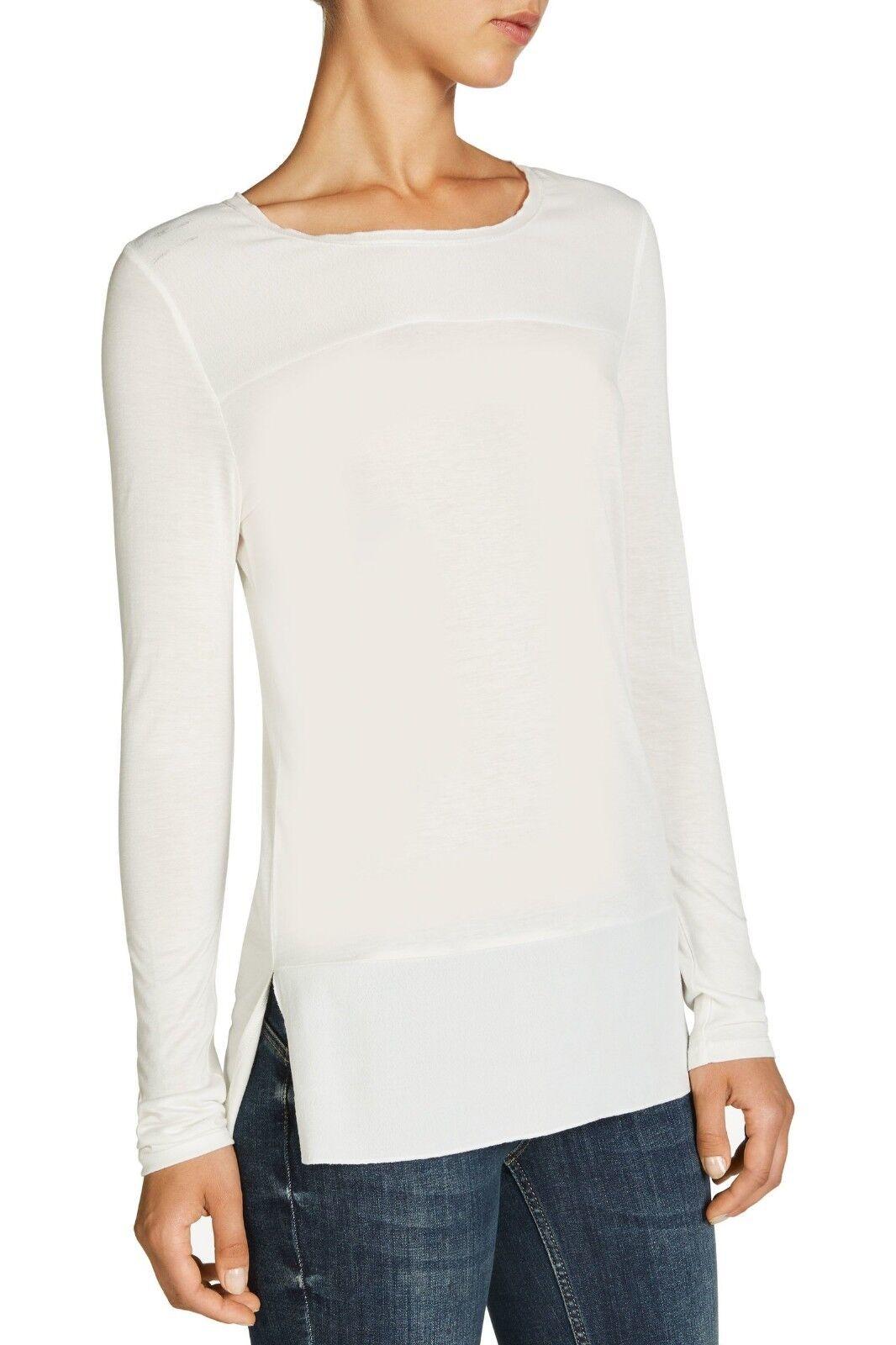 Patched-Shirt, Farbe  Wollweiß, Marke  Oui, Größe 36, 38, 40