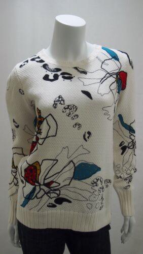 b300487 Donna Pullover Nuovo Cecil Flowerprint struttura Maglione Articolo N