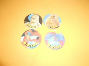 171 Pogs Pog Caps Milkcaps Flippo : Lot De 4 Floppy Street Fighter 2 5-6-7-8 Iq1sbd6w-07182025-696396767