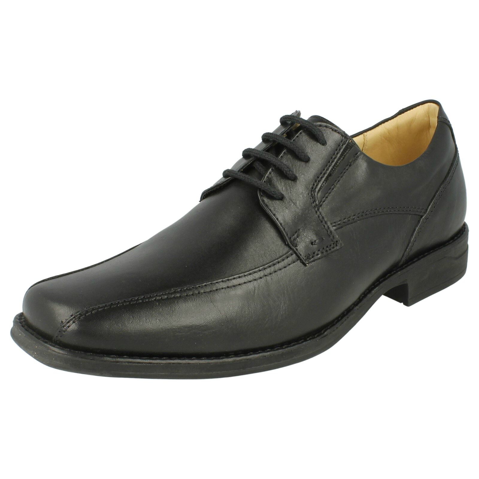 Mens Anatomic Or & Co Platina Black Or Anatomic Coffee Brown Leather Smart Lace Up Shoes 43881b