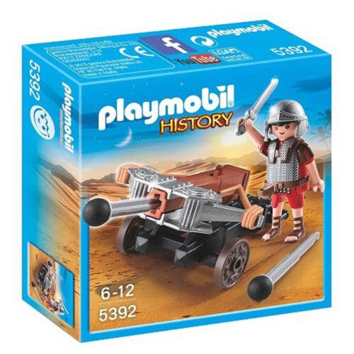 Playmobil History Legionnaire With Ballista Building Set 5392 NEW Toys Building