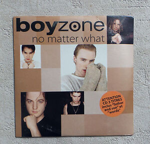 CD-AUDIO-BOYZONE-034-NO-MATTER-WHAT-034-CD-MAXI-SINGLE-3-TRACKS-NEUF-SOUS-BLISTER