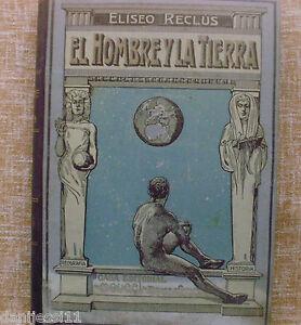 El-Hombre-y-la-Tierra-Eliseo-Reclus-Casa-Editorial-Maucci-Tomo-quinto-Usado