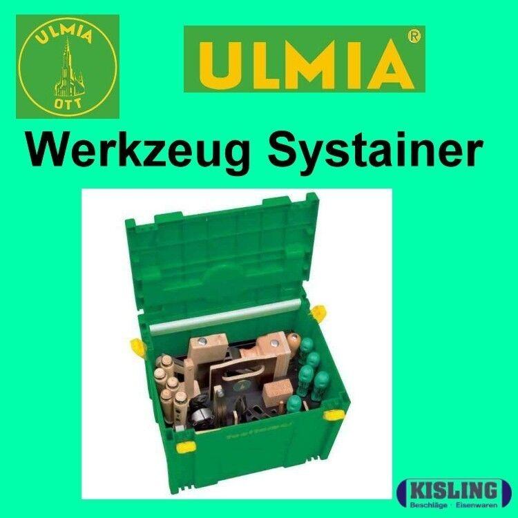 Ulmia Tooltainer - Werkzeugkoffer- BGJ - komplett mit Werkzeug im Systainer