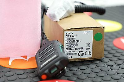 Motorola NMN6274 OEM APX  XP IMPRES Remote Speaker Mic w/ 3.5mm Audio Jack *New