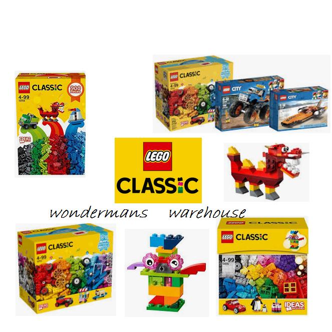 LEGO classico creativo Costruzione Scatola Set Regalo - 10704/10695/10715 & More-NUOVO