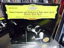 Herbert Von Karajan Piano Svjatoslav Richter Japan Import LP DGG EX [Red Tulip]