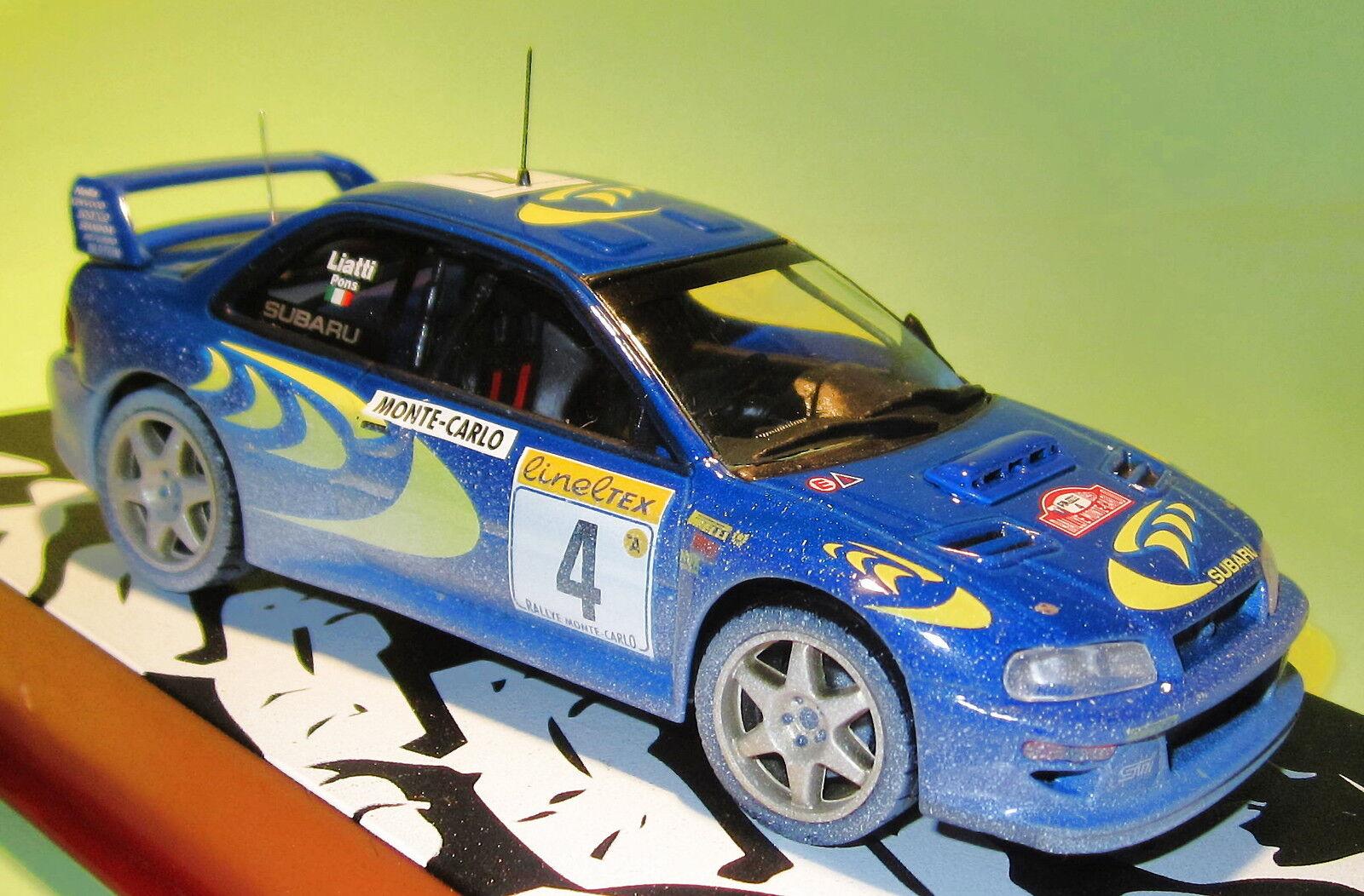 Diecast 1 43 subaru impreza 1997 liatti rally montecarlo (02)