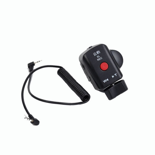 Camcorder Zoom Remote Control 2.5mm Jack Cable For Panasonic Lanc Video Camera