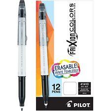 Pilot Frixion Colors Erasable Marker Pen Bold Point 25mm Black Ink Box Of 12