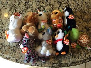 "CHOICE  ALL NEW w tags  Ty Beanie Boos 6"" Stuffed Plush Toy NWT Animal"