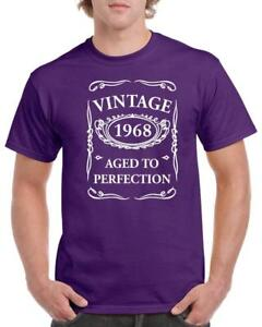 21st-30th-40th-50th-60th-70th-80th-Funny-Birthday-Gift-T-Shirt-Vintage-New-Style