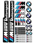 BMW Performance Motorsport Tuning Decals Sticker  1 Set-32 Piece  Full color HD