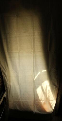 curtain panel silk dupoini drape pole top pottery barn 50 x 84 ivory