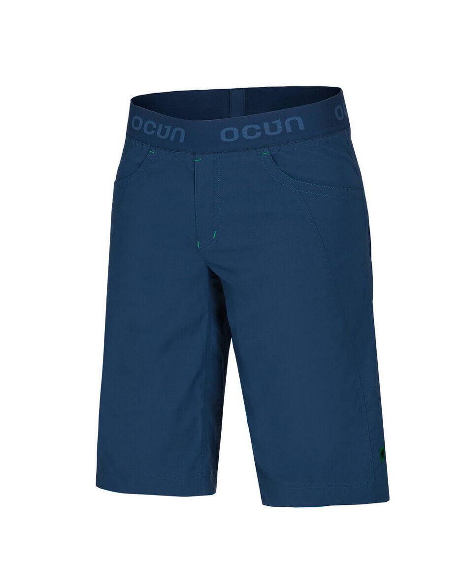 Ocun Mania Shorts Größe. S, kurze Kletterhose, Blau