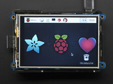 "Adafuit PiTFT Plus 480x320 3.5"" TFT+Touchscreen for Raspberry Pi"