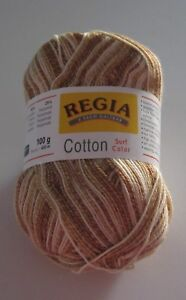 100g-ball-Rust-Camel-White-REGIA-SURF-COLOR-cotton-wool-nylon-sock-yarn-5420