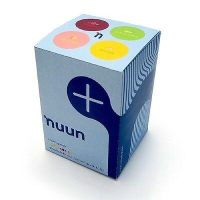 nuun Electrolyte Sports Drink Tabs, 4 Flavour Variety Pack 4 ea