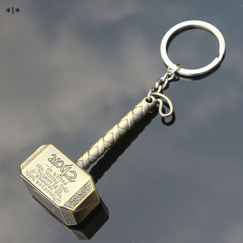 Thor/'s Hammer Key Chains Men Cool Car Rings Creative Key Accessories Nice Gifts