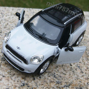 BMW-Mini-Cooper-White-5-inch-Model-Cars-Toys-Collections-amp-Gifts-Alloy-Diecast-New