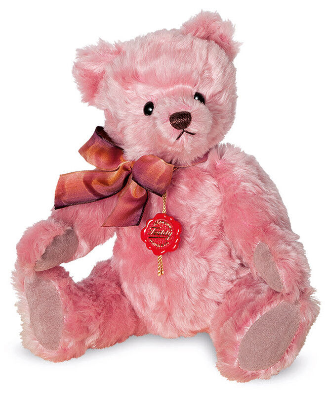 Teddy Hermann 'Nostalgic Pink' limited edition mohair teddy bear - 16902