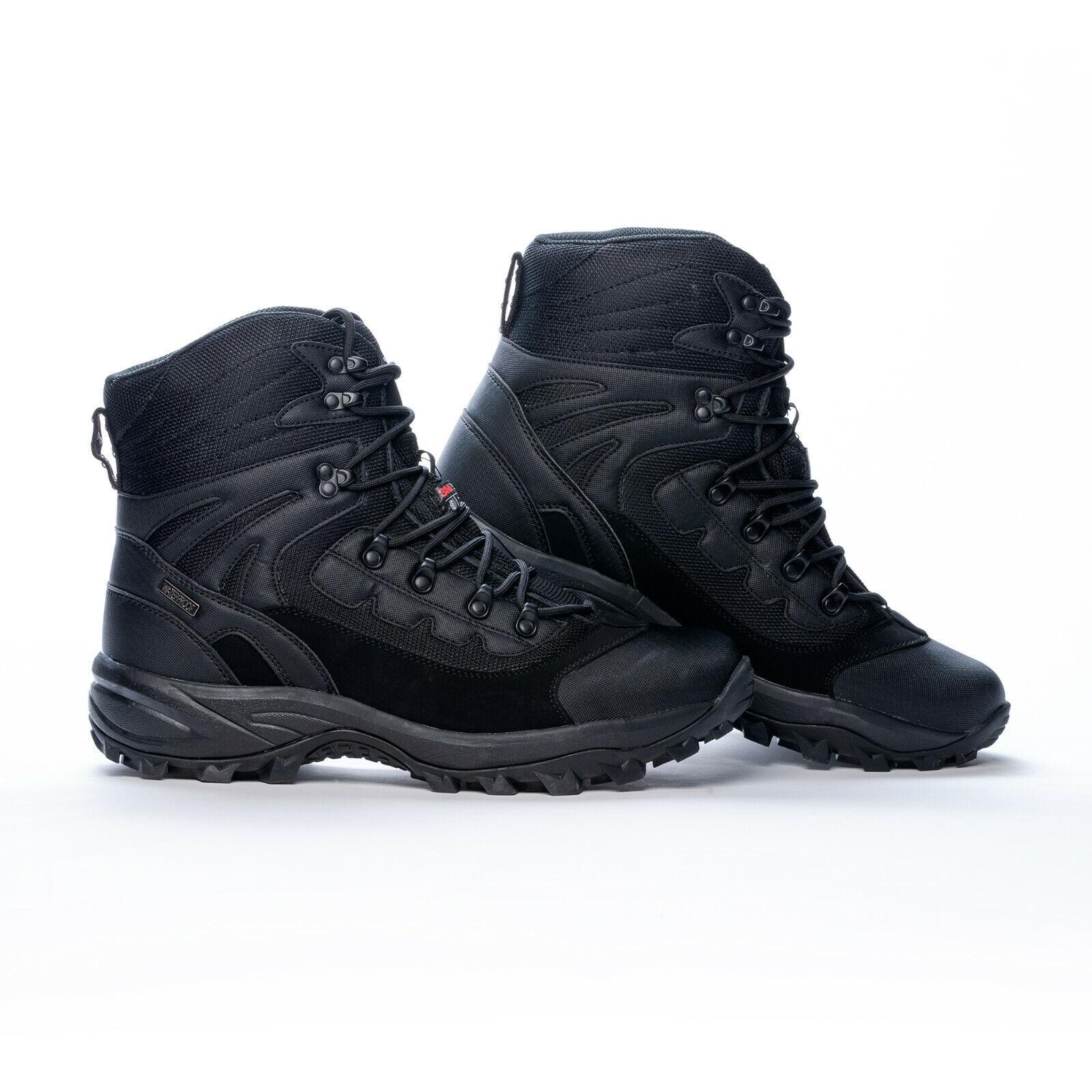 Scarponi Montagna Thinsulate Inverno All'Aperto Stiefel schwarz schuhe Bw Stivaletti