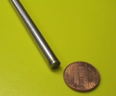 """304 Stainless Steel Rod -.043mm/"""" 6 mm Diameter x 18 Inch Length 2 Units"""