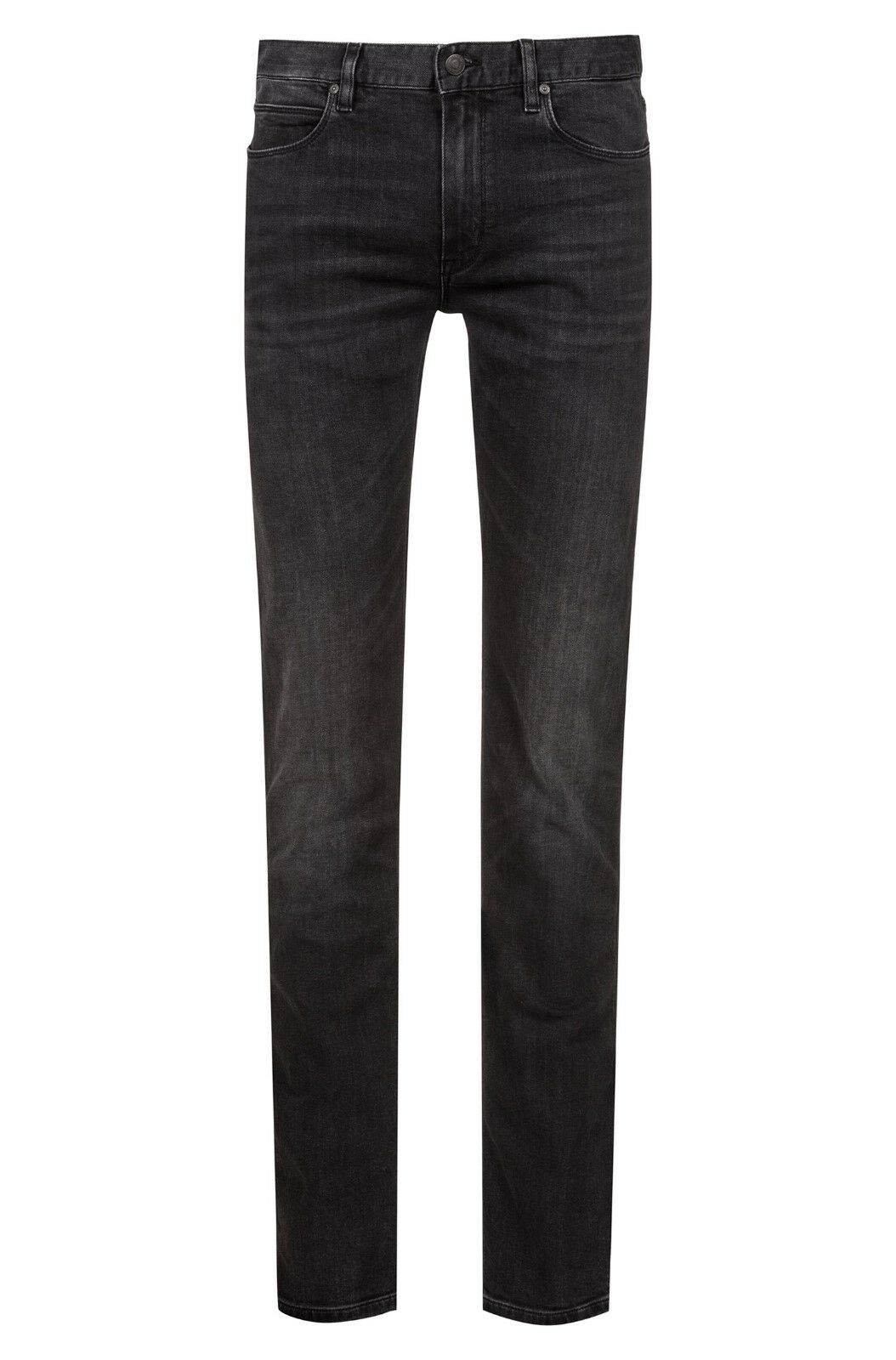 Hugo Boss Slim-fit jeans in dark-grau stretch denim Style Hugo 708