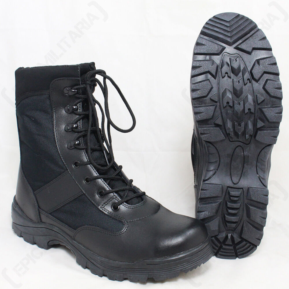 BLACK SECURITY Stiefel Paintballing - Army Combat Military Airsoft Paintballing Stiefel Hunting Unisex dc7342