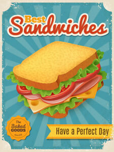 Retro-sandwiches-metal-signe-FAST-FOOD-RESTAURANT-ART-Tin-plaque-vintage-Cafe-bar