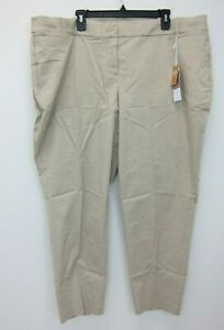 Lane-Bryant-Women-039-s-Twill-Allie-Collection-Pants-Size-20-Khaki-NWT