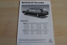 86024) Renault R 21 Nevada - Preise & technische Daten & Ausstattungen - Prospek